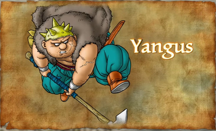 Dragon Quest VIII - Yangus