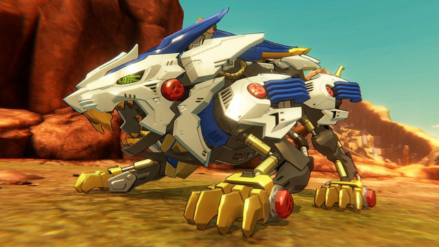 First Image Of Zoids Wild Nintendo Switch