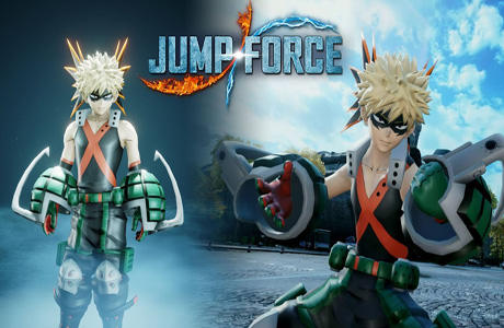 "Jump Force Adds My Hero Academia ""Bakugo"" To Fighting Roster – 1st Screenshots"