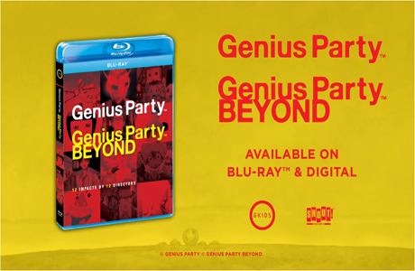 "GKIDS Announces ""Genius Party & Genius Party Beyond"" Fall Release For Home Video"