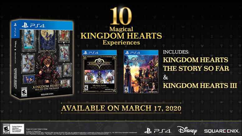 Kingdom Hearts AIO Package